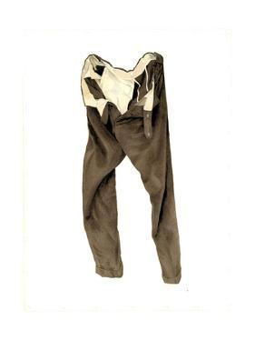 Brown Corduroy Trousers (Michael) 2003 by Miles Thistlethwaite
