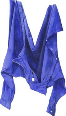 Fierce Blue Shirt, 2003 by Miles Thistlethwaite