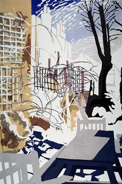 Stark Winter Back-Garden, 1993 by Miles Thistlethwaite