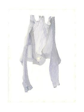 Stripy Blue Shirt in a Breeze, 2004 by Miles Thistlethwaite