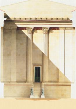 Temple of Apollo, 1875 by Milet