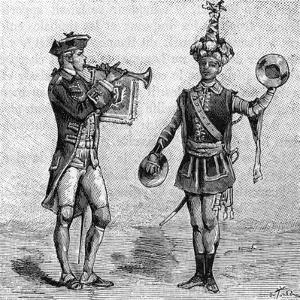 Military Music 8th Century Musicians (6 of 8)
