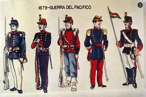Military Uniforms at Time of Pacific War