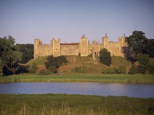 Framlingham Castle, Suffolk, England, United Kingdom, Europe by Miller John
