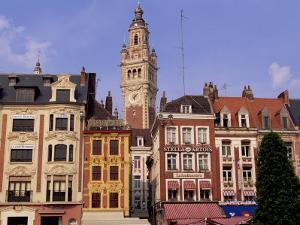 Grand Place, Lille, Nord Pas De Calais, France, Europe by Miller John