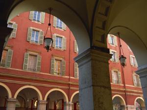 Place Massena, Nice, Alpes Maritimes, Cote D'Azur, Provence, France, Europe by Miller John