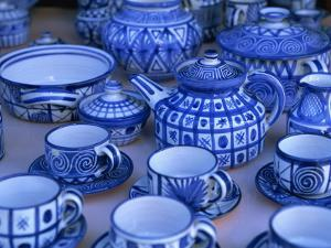 Pottery, Vallauris, Provence, Cote D'Azur, France, Europe by Miller John