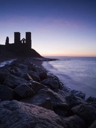 Reculver Towers, Kent, England, United Kingdom, Europe