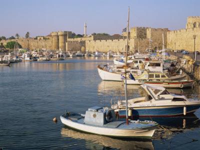 Rhodes Town, Rhodes, Dodecanese Islands, Greek Islands, Greece