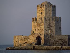 Venetian Fortress at Methoni, Peloponnese, Greece, Europe by Miller John