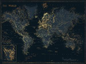 Golden Blue World by Milli Villa