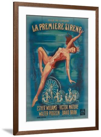 Million Dollar Mermaid--Framed Poster