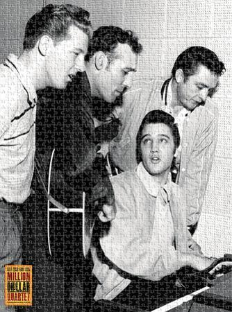 Million Dollar Quartet 1,000 Piece Puzzle