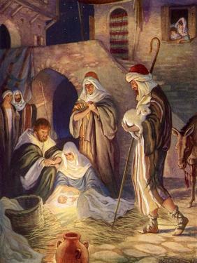 Nativity Scene by Milo Winter
