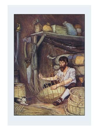 Robinson Crusoe: I Employed Myself