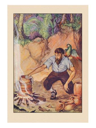 Robinson Crusoe: I Wanted No Sort of Earthenware