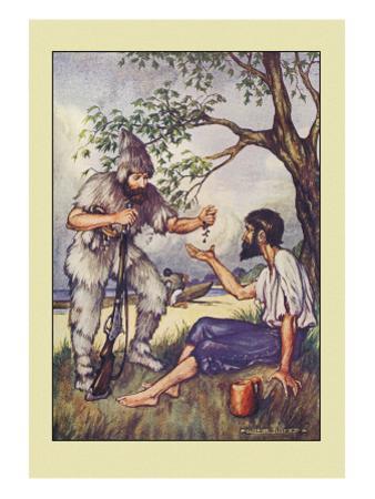 Robinson Crusoe: I Went to Him and Gave Him a Handful of Raisins