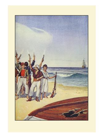 Robinson Crusoe: Then They Came and Fired Small Arms