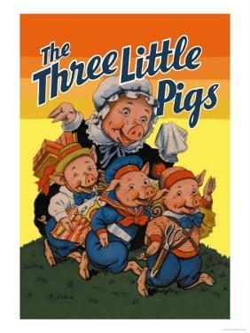 The Three Little Pigs by Milo Winter