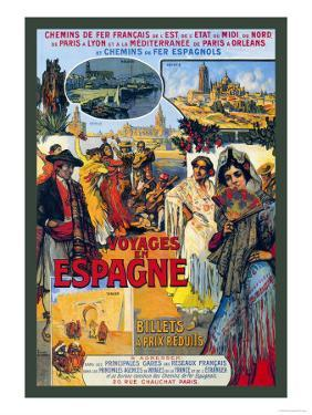 Voyages En Espagne by Milo Winter