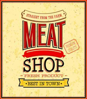 Meat Shop Design by MiloArt