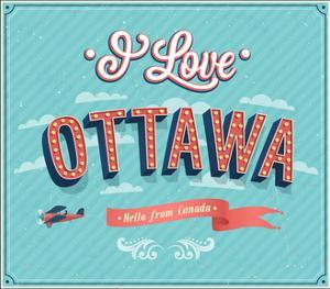Vintage Greeting Card From Ottawa - Canada by MiloArt