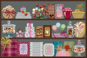 Store of Sweets and Chocolate by Milovelen