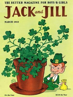 Luck of the Irish - Jack and Jill, March 1955 by Milt Groth