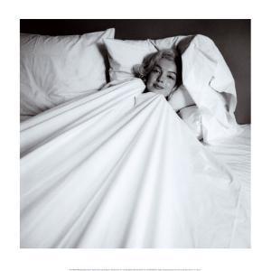 Marilyn in Bed by Milton H^ Greene