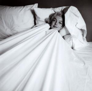 Marilyn in Bed by Milton H. Greene
