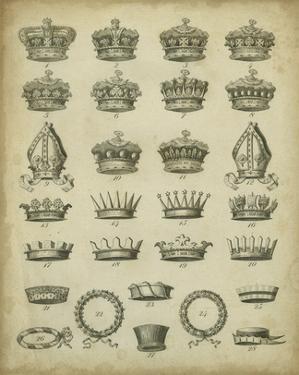 Heraldic Crowns & Coronets IV by Milton