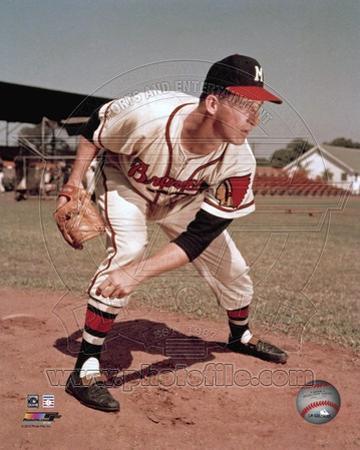 Milwaukee Braves - Warren Spahn Photo