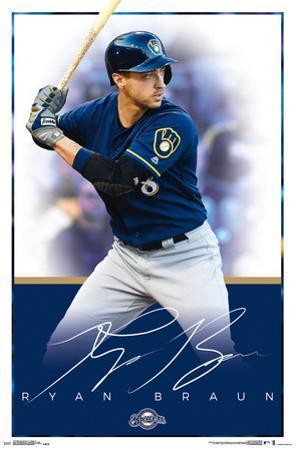 Milwaukee Brewers - R Braun 17
