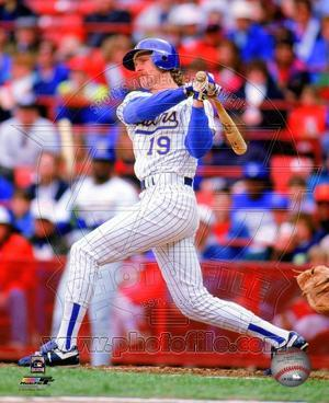 Milwaukee Brewers Robin Yount 1992 Action