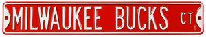 Milwaukee Bucks Ct Steel Sign