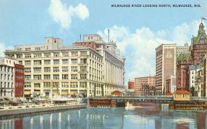 Milwaukee River, Downtown Milwaukee, Wisconsin