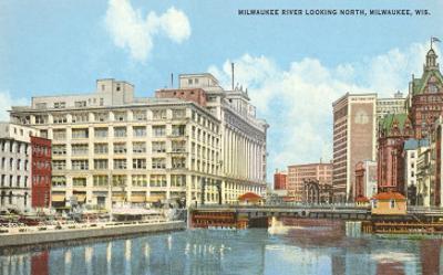 Milwaukee River, Downtown Milwaukee, Wisconsin