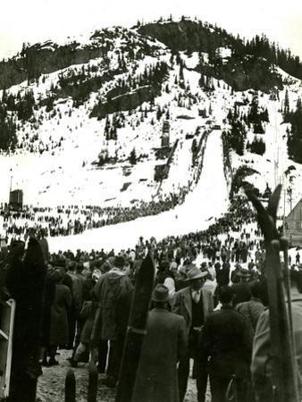 Milwaukee Road Ski Bowl, ca. 1946