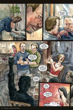 30 Days of Night: Three Tales - Comic Page with Panels by Milx