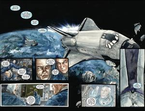 30 Days of Night: Three Tales - Page Spread with Panels by Milx