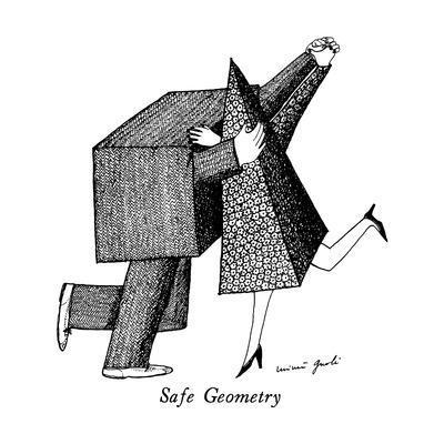 Safe Geometry - New Yorker Cartoon