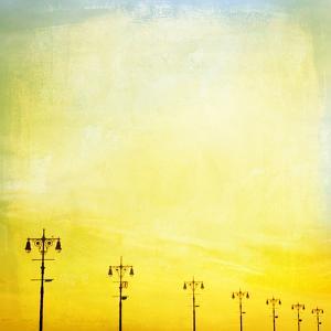 Boardwalk Sunset by Mina Teslaru