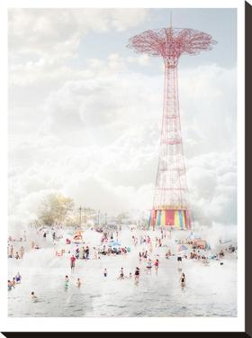Brooklyn Eiffel Tower by Mina Teslaru
