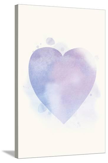 Mindfulness - Heart--Stretched Canvas