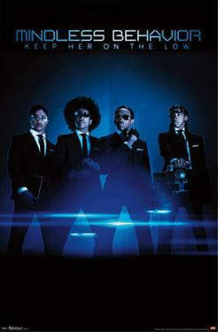 Mindless Behavior - On The Low Music Poster