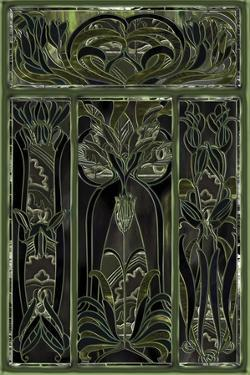 Green Window by Mindy Sommers