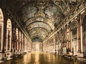 Hall of Mirrors Versailles by Mindy Sommers