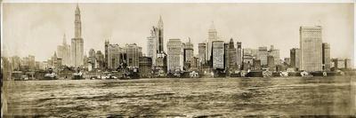 NYC Skyline 1911