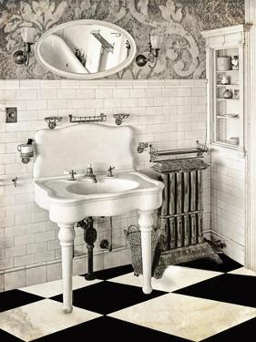 Victorian Bathroom by Mindy Sommers