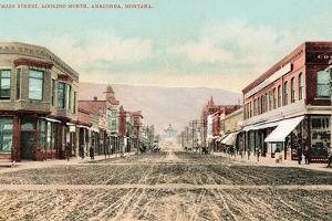 Mine Street, Anaconda